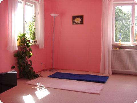 Yogastudio Übungsraum